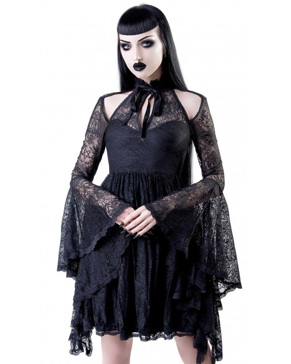 Killstar She's Stardust Lace Dress