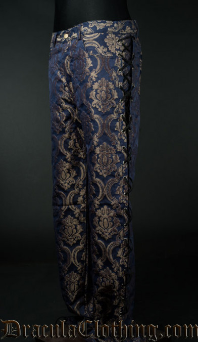 Blue Royal Laced Pants