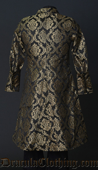 Gold Brocade Officer Coat