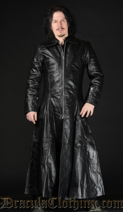 Leather Warrior Coat