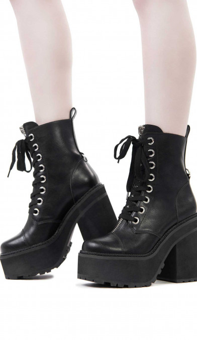 Killstar Pit Princess Boots
