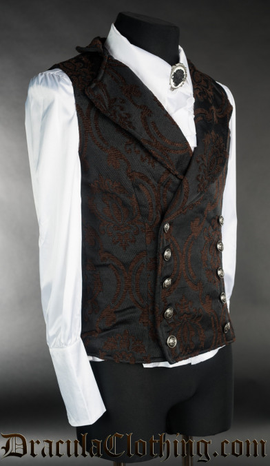 Steampunk Double Buttoned Vest