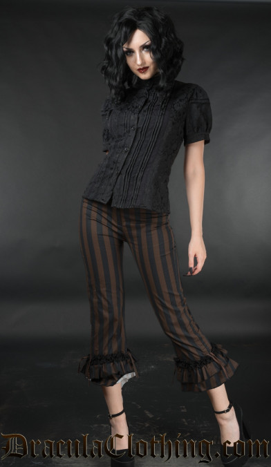 Steampunk Ruffle Pants