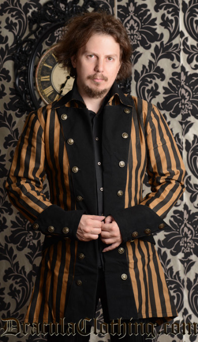 Steampunk Striped Jacket
